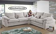 Ъглов диван с гъши пух по поръчка 760