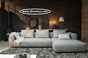 Ъглов диван с висококачествен дунапрен 788