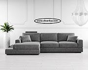 Ъглов диван с мемори пяна по поръчка 790