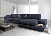 Ъглов диван с висококачествена дамаска по поръчка 791