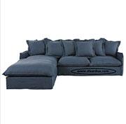 Ъглов диван с пух 1093