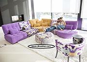Цветен модулен диван по поръчка 797