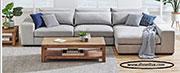 Ъглов диван с мемори пяна по поръчка 802