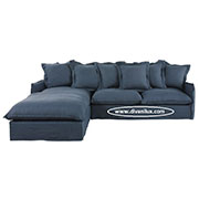 Ге-образен диван с гъши пух по поръчка 803