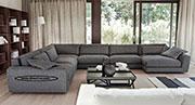 Пе-образен диван с мемори пяна по поръчка 804
