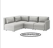 Ъглов диван с висококачествен дунапрен 1091