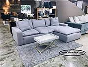 Ъглов диван с гъши пух по поръчка 827