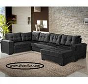 Пе-образен луксозен диван по поръчка 1090
