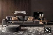 Луксозен диван с висококачествена дамаска 832