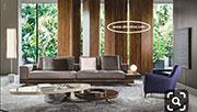 Луксозен диван по поръчка с мемори пяна 849