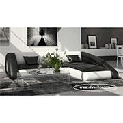 Дизайнерски ъглов диван по поръчка 1125