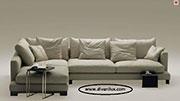 Мек и удобен ъглов диван по поръчка 1123