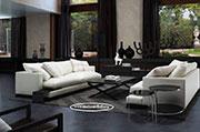 Пухкав диван с висококачествени материали по поръчка 1121