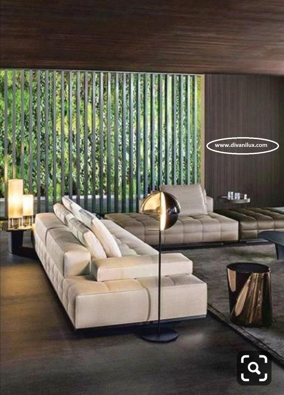Луксозен диван с висококачествен дунапрен 857