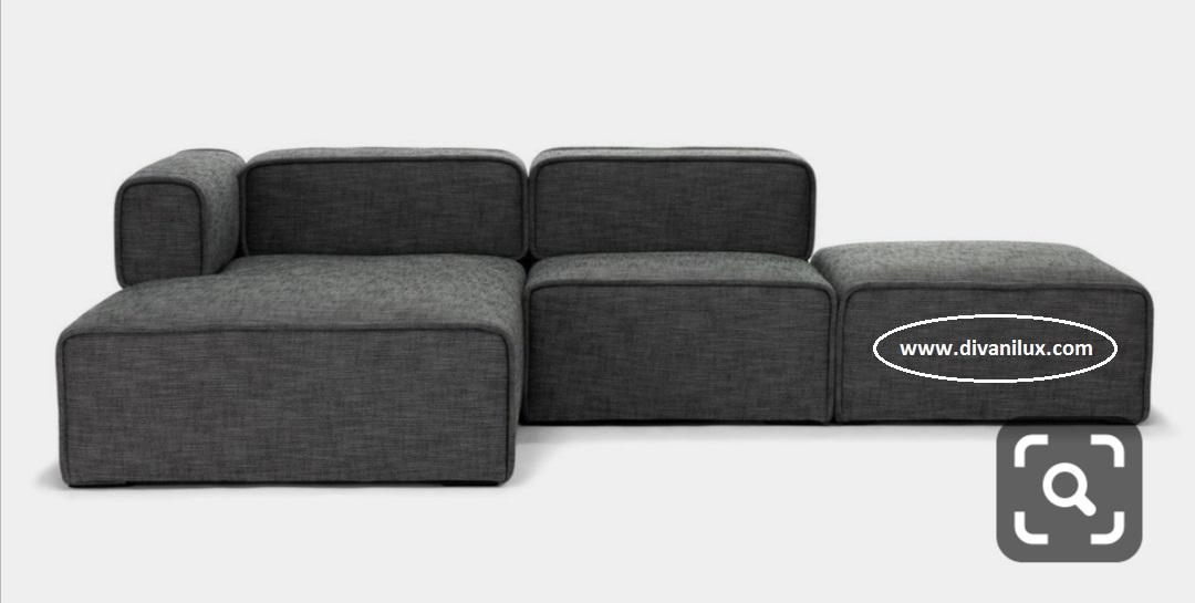 Модулен диван с висококачествен дунапрен 872