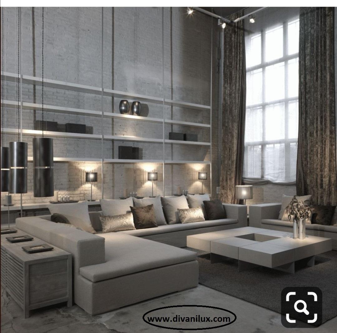 Луксозен диван с мемори пяна по поръчка 879