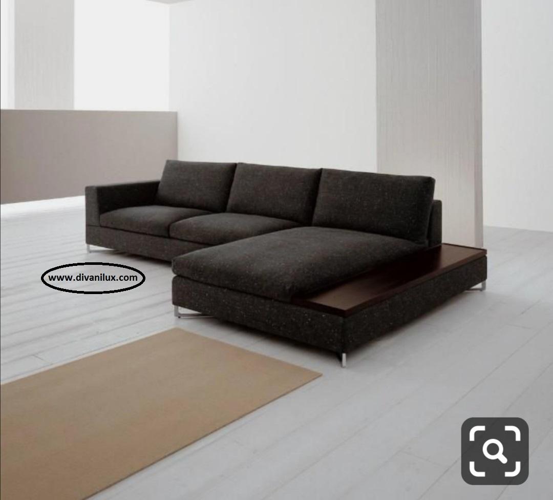 Ъглов диван с мемори пяна 890
