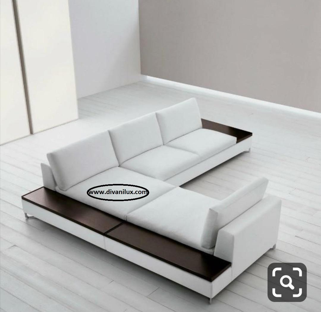 Ге-образен диван с мемори пяна по поръчка 891