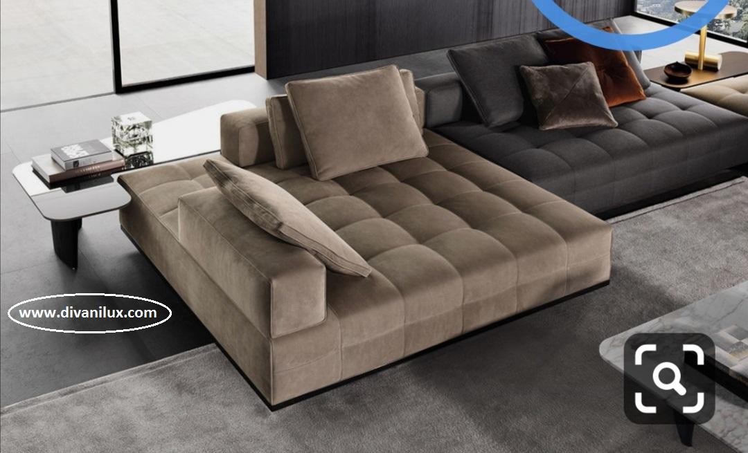 Капитониран диван с мемори пяна 935