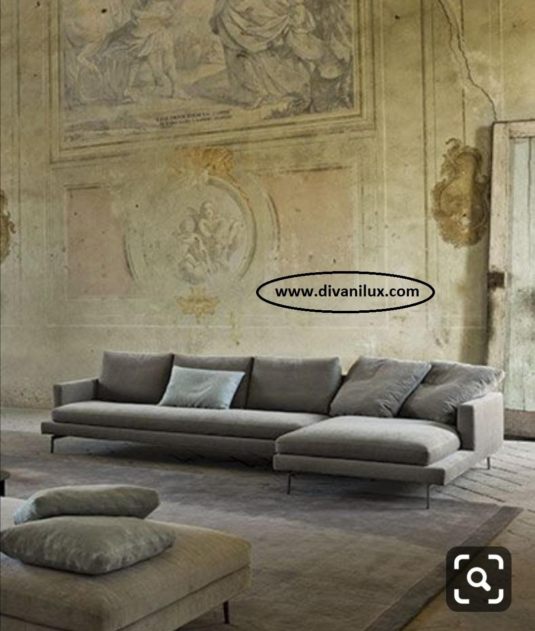 Ъглов диван с мемори пяна по поръчка 938