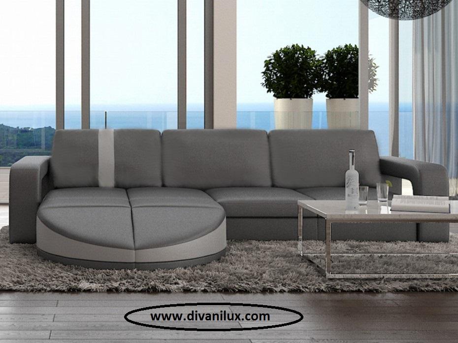 Луксозен ъглов диван по поръчка 949