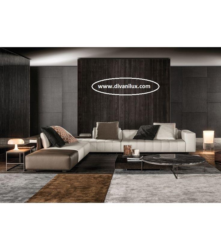 Луксозен ъглов диван с миеща дамаска 955