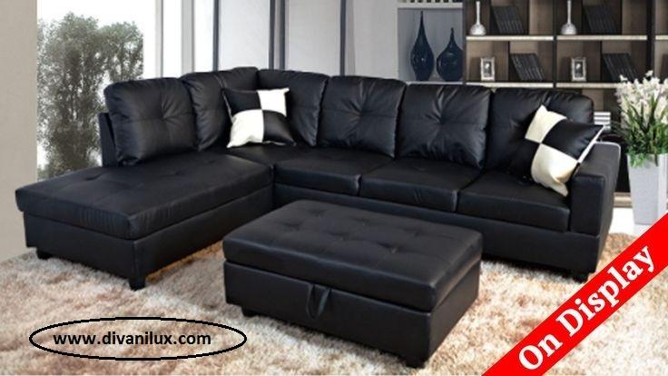 Капитониран кожен диван по поръчка 957