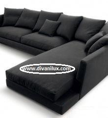 Ъглов диван с перяща се дамаска 992