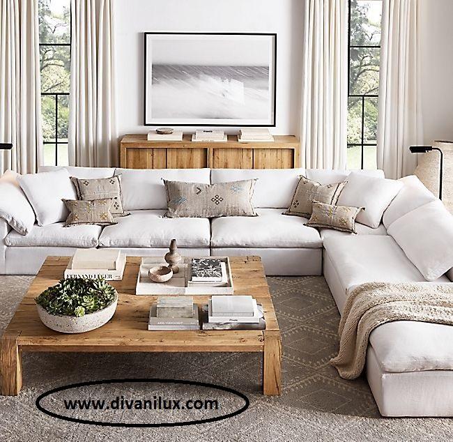 Ъглов диван с гъши пух по поръчка 993