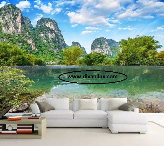 Ъглов диван с гъши пух 1023