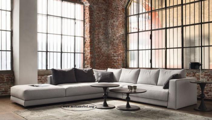 Ге-образен диван с мемори пяна 1036