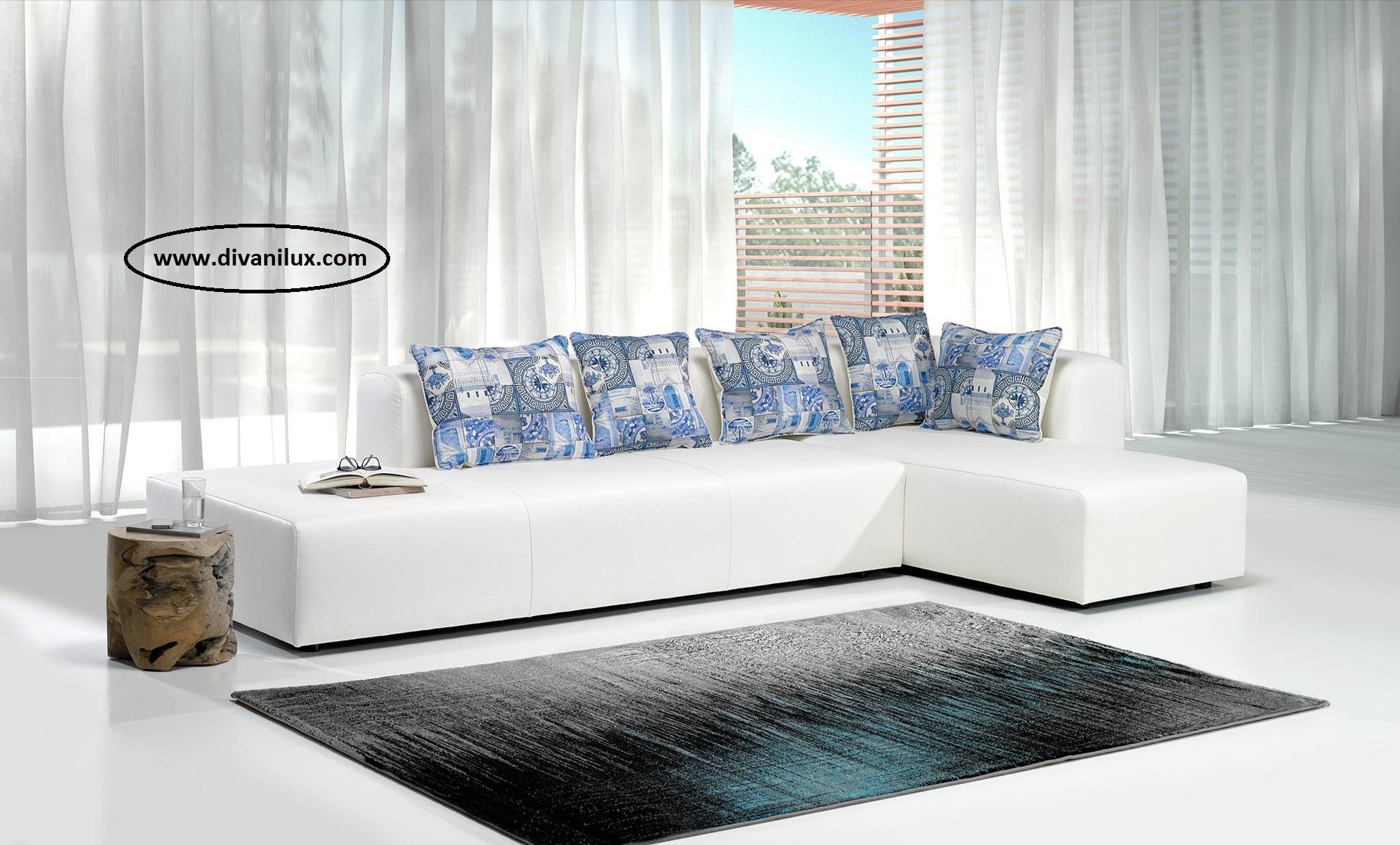 Ъглов диван с мемори пяна по поръчка 1053