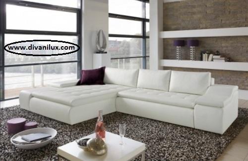 Ъглов диван с мемори пяна 1060