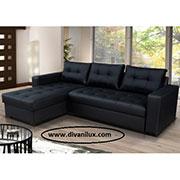 Луксозен ъглов диван с мемори пяна по поръчка 502