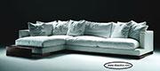 Ъглов диван с гъши пух по поръчка 516