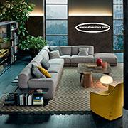Луксозен ъглов диван по поръчка 520