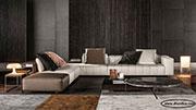 Луксозен ъглов диван с мемори пяна 526