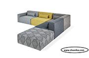 Цветен модулен диван по поръчка 530