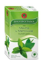 Чай Мента и Маточина Биопрограма
