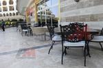 Основа за бар маса от неръждаема стомана за ресторант
