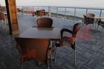 Основа за бар маса от неръждаема стомана за хотел