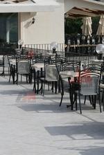 Прахово боядисана стойка за маса