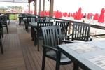 Пластмасова маса за градина за бар