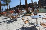 Алуминиева маса за плаж