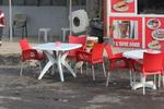 Пластмасова евтина маса за бар