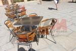 Метална маса за заведения за открити пространства