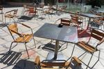 Алуминиева здрава маса за заведения за открити пространства