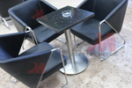Метални стойки за маса с кръгла основа