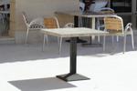 Основи за маса с квадратна основа за заведение
