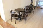 основа за бар маса от неръждаема стомана за кафене